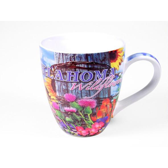 OK Wildflowers Mug