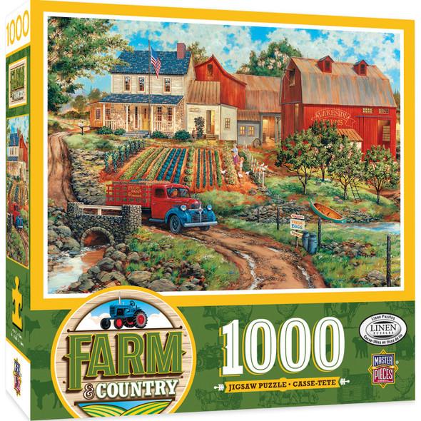 Farm Country - Grandma's Garden 1000 Piece Jigsaw Puzzle