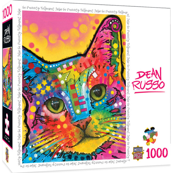 Dean Russo - So Puuuurty 1000 Piece Jigsaw Puzzle