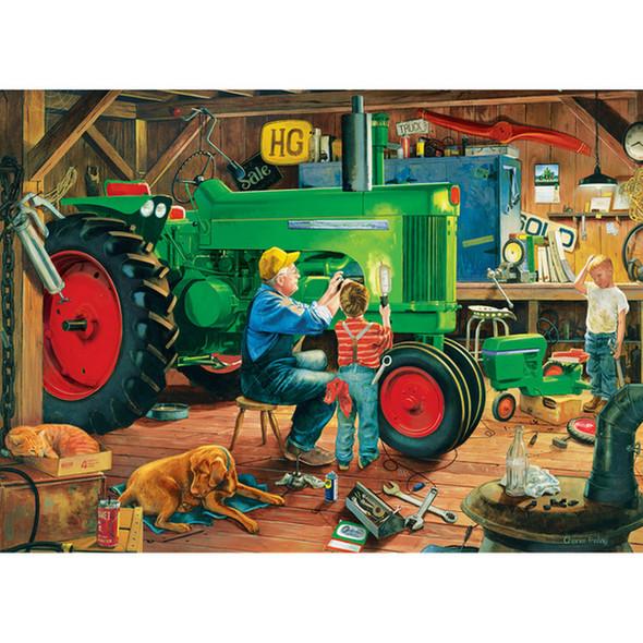 Farm Country - the Restoration 1000 Piece Jigsaw Puzzle