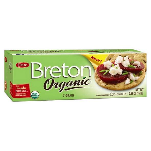 Breton Organic 7 Grain Crackers 5.29 oz