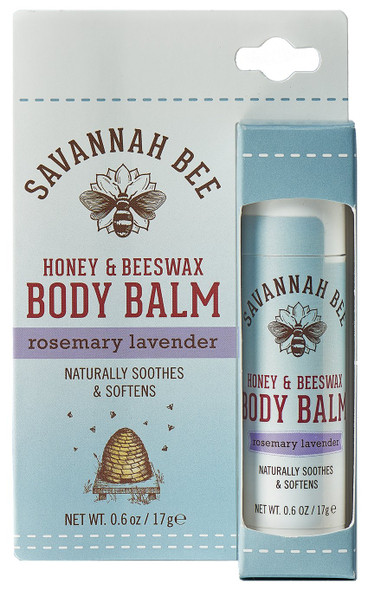 Savannah Bee Honey & Beeswax Body Balm combines rosemary and lavender oils with the four hive ingredients (royal jelly, honey, beeswax, and propolis) to quench the skin's thirst while soothing natural fragrances calm the mind. Cocoa butter and coconut oil provide extra nutrients for an emollient formula that offers softening refreshment. Our Honey & Beeswax Body Balm is perfect for on-the-go skincare to provide extra hydration to hands, elbows, heels - anywhere that needs a little hydrating love and nourishment!