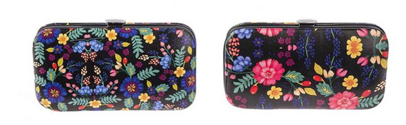 Manicure Set In Floral Case Cosmetic Tools The Nut House