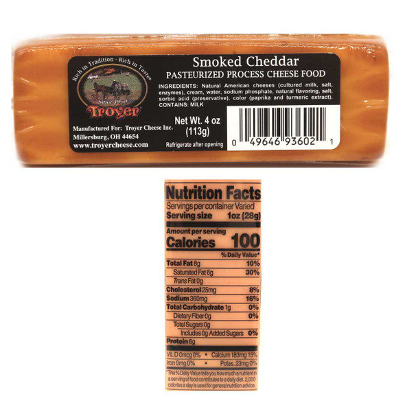 Shelf Stable Smoked Cheddar Cheese Cheese The Nut House