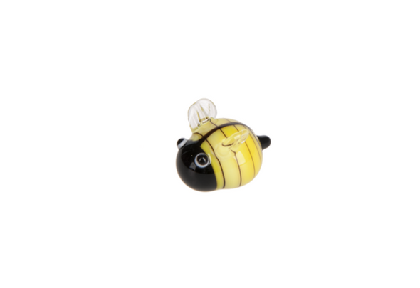 """Lucky Little Bumble Bee Charm. Dimensions: 1/2"""" W. x 1/2"""" L.  Sold individually."""