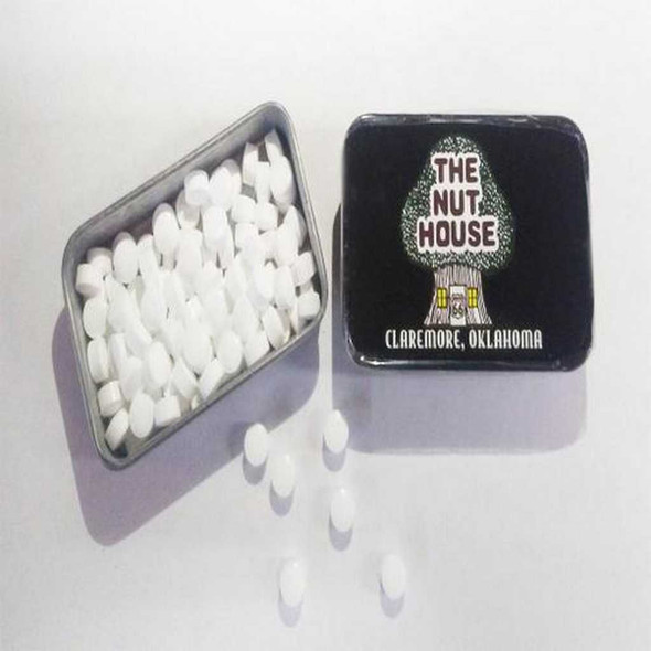 Nut House Mints in Tin Candy The Nut House