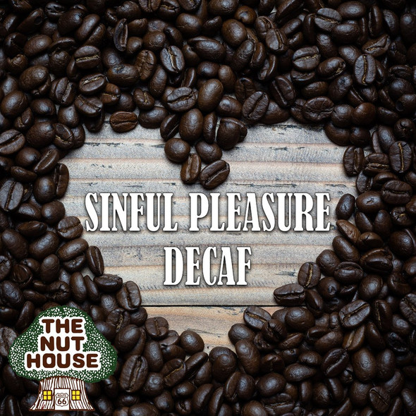 <p><span>Sinful Pleasure flavored coffee beans: maple and caramel.</span></p>