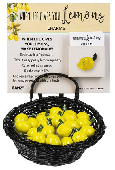 When Life Gives You Lemons Charm Charms & Pocket Tokens The Nut House
