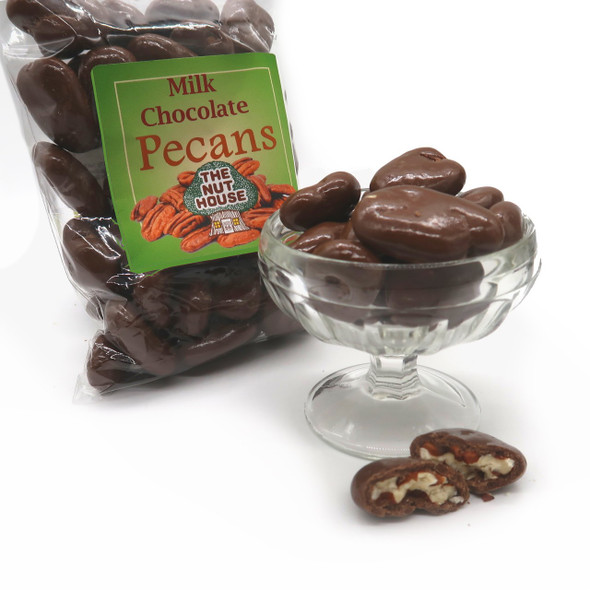 Chocolate Covered Pecans 12 oz Covered Nuts The Nut House