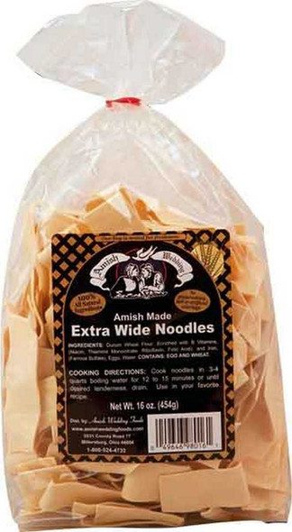Amish Extra Wide Noodles Noodles The Nut House
