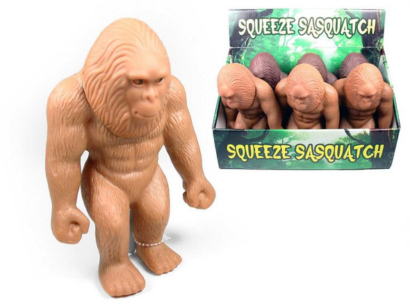 Squeeze Bigfoot Toy Toys The Nut House