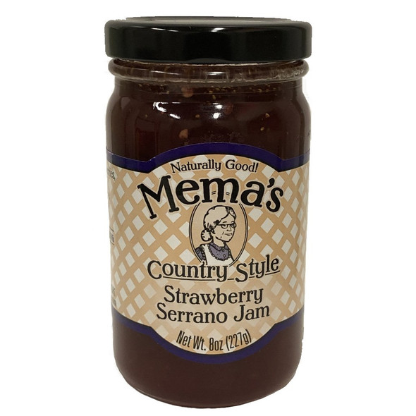 Meme's Strawberry Serrano Jam