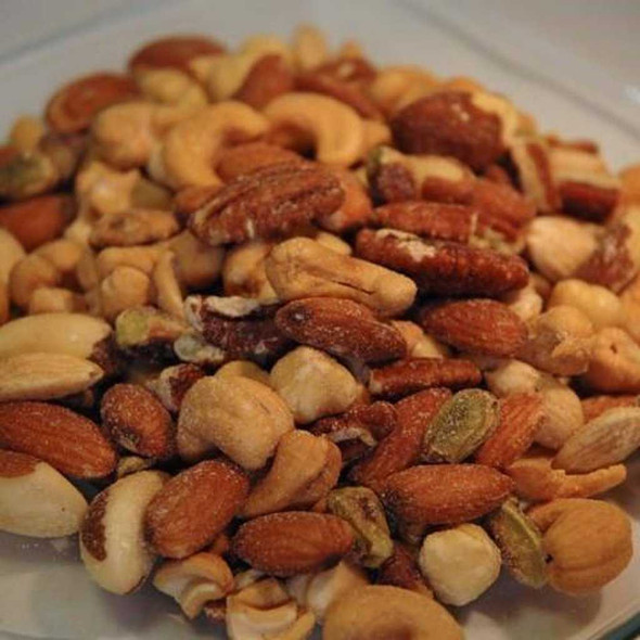 Deluxe Mixed Nuts 10 oz Covered Nuts The Nut House