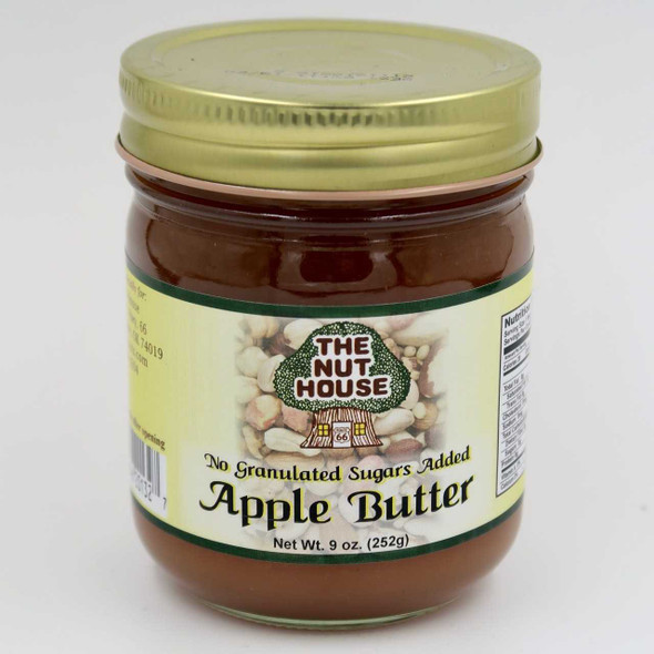 Nut House Apple Butter No Sugar Added 9 oz Jams and Jellies The Nut House