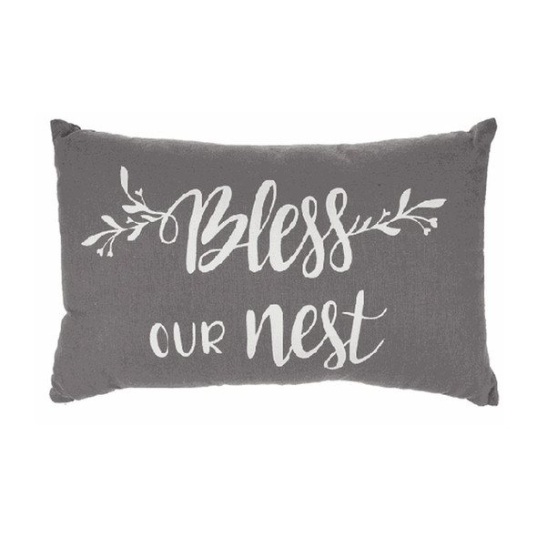 Pillow - Our Nest with removable cover with loose fill