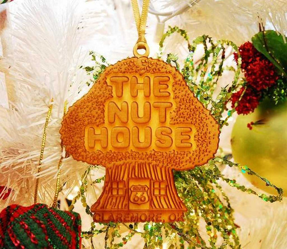 The Nut House Laser Ornament Christmas Ornaments The Nut House