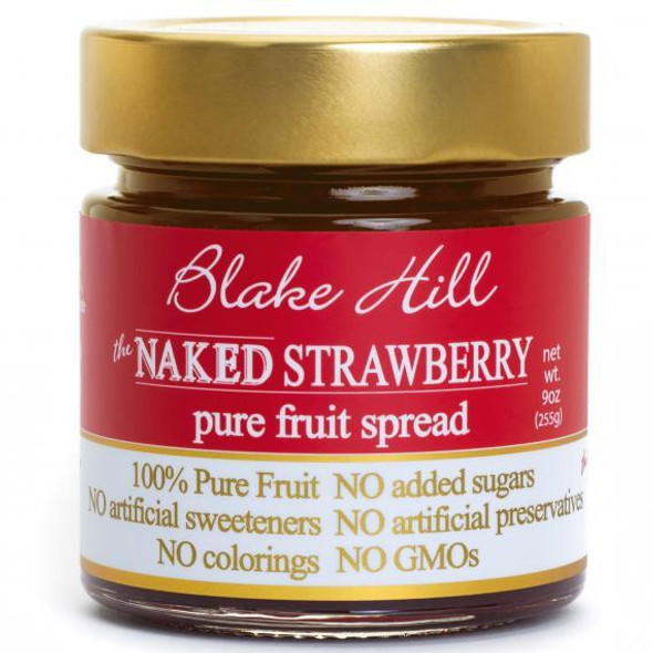 Perfectly ripe, full flavored, strawberries are simmered with fruit juice for a classic taste of early summer. This line of No Added Sugar 100% Pure Fruit Spreads has been very well received by our customers. Amazingly sweet pure fruit taste without added sugar.   100% Pure Fruit Spread with No added sugar. Naturally sweet. Artisan 100% Fruit Jam. All-natural, with no artificial sweeteners, preservatives or colorings.  Spread pure fruit joy on your morning toast or add to yogurt for an even healthier treat. NON GMO.     KOSHER.     NATURALLY PRESERVING THE TASTE OF SUMMER.