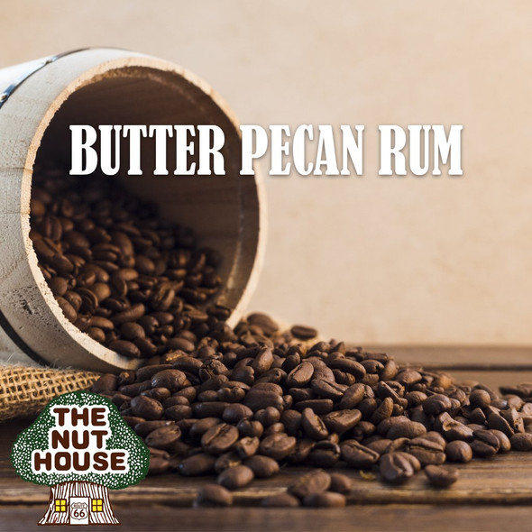 <p>Butter Pecan Rum flavored coffee beans: think creamy, think nutty, think smooth</p>