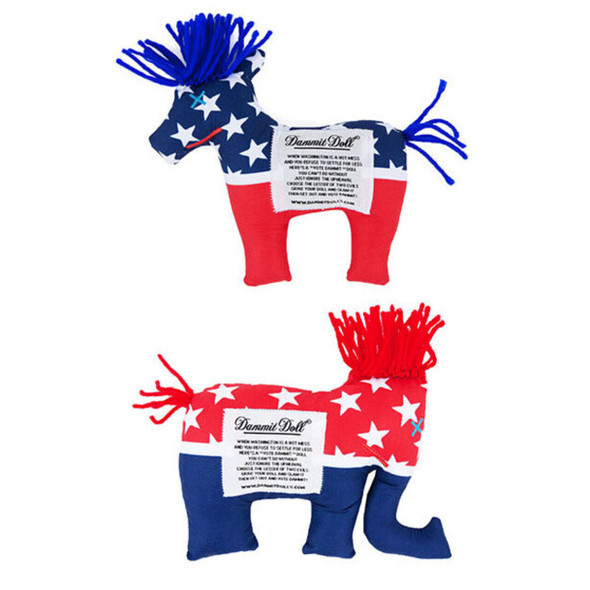 Political Party Dammit Doll