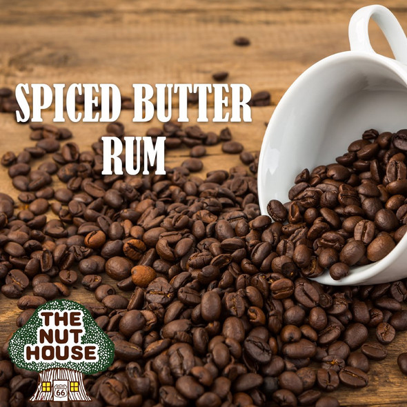 <p>Spiced Butter Rum flavored coffee beans: a spicy, buttery cream flavor, perfect any time</p>