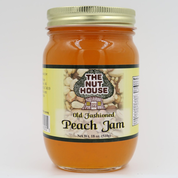 "You owe it to yourself to try the old-fashioned taste of  Peach Jam (18oz) that is ""Just Naturally Good."" It is 100% all-natural with no artificial colors or sweeteners. The delicious flavor floats out of the jar!"