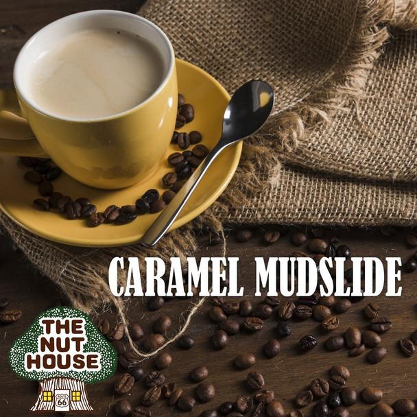 <p><span>Caramel Mudslide flavored coffee beans: rich chocolate and creamy caramel.</span></p>