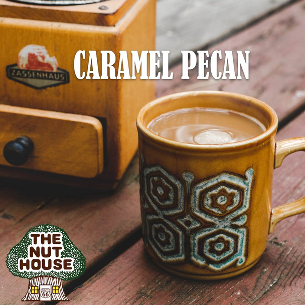 <p>Love Pecans and Caramel? Try this delicious blend of coffee, ground and whole bean.</p>