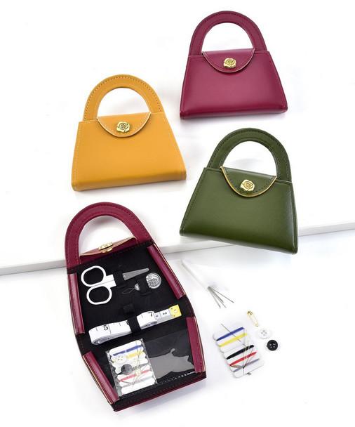 Fall Tone Sewing Kit in Purse