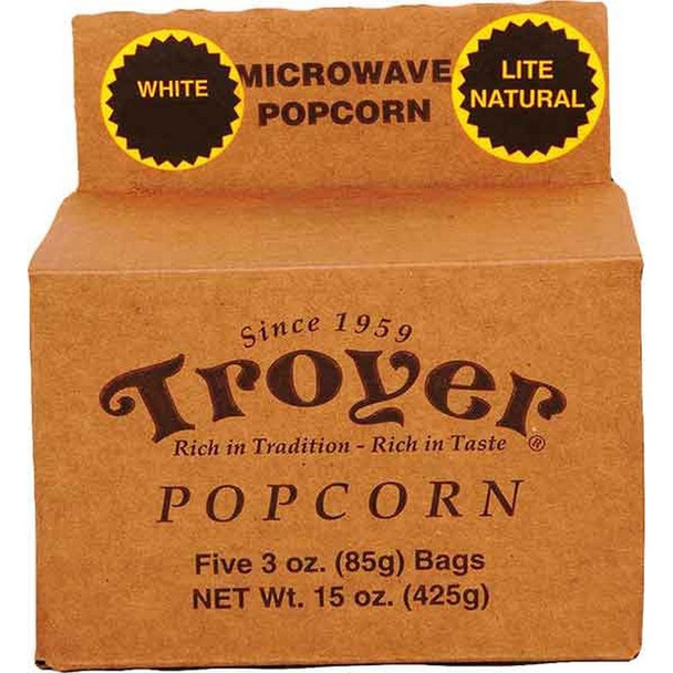 Soft and tender baby white popcorn that can be made with the convenience of your microwave!
