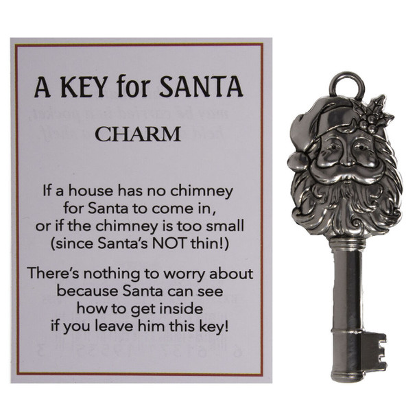 A Key For Santa reassure kids that Santa can still get inside with this magic key which unlocks any door.