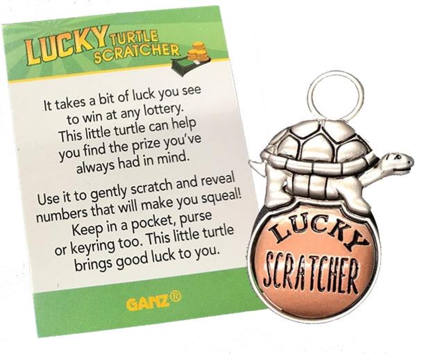 Lucky Little Turtle scratcher