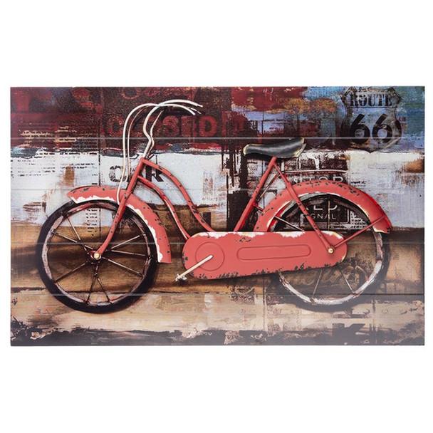 3D Bicycle Plaque