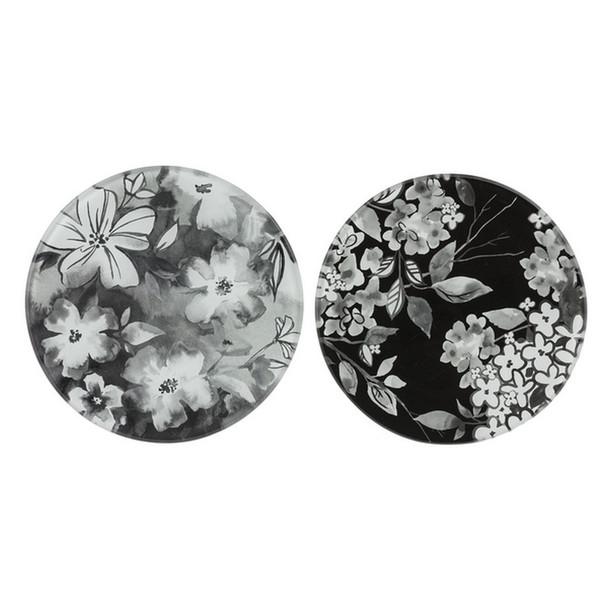Floral Noir Tray