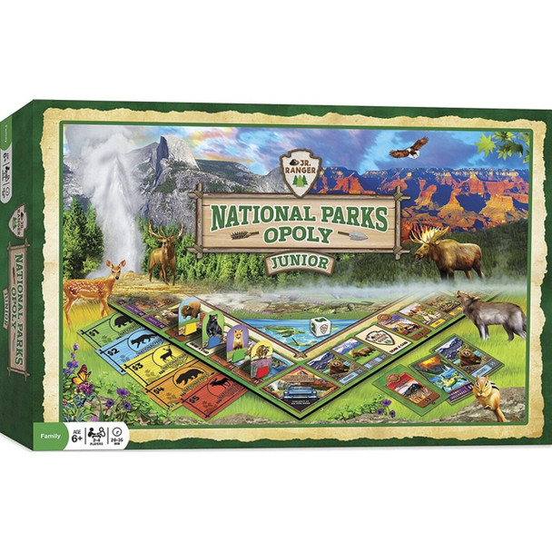 National Park Opoly Board Game for ages  6 and up by MasterPieces