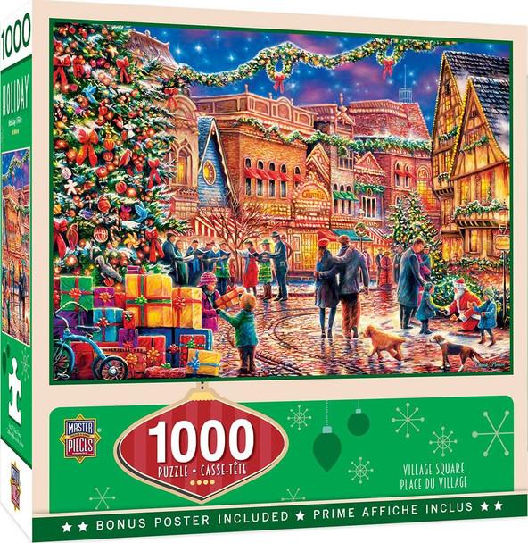 Village Square 1000 PC Puzzle