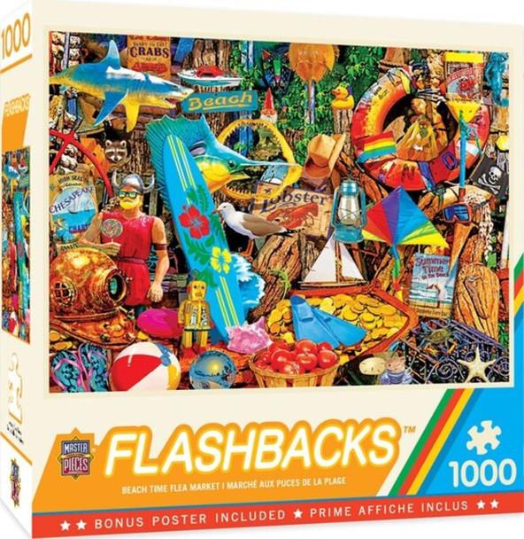Flashbacks - Beach Time Flea Market 1000 Piece Jigsaw Puzzle