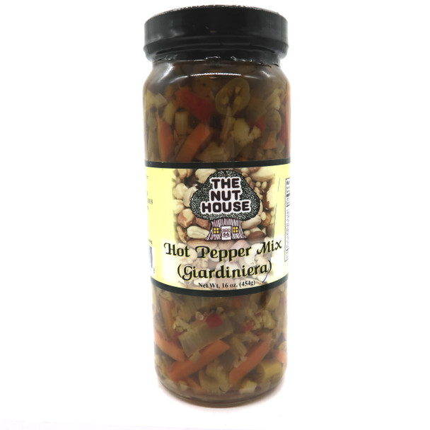 NH Hot Giardiniera 16 oz