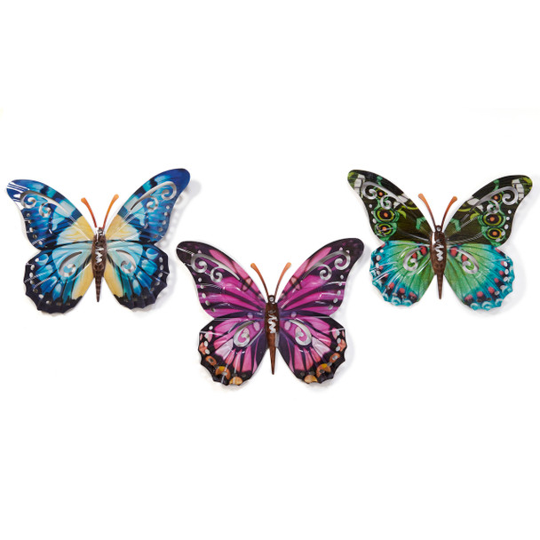 """Extra Large Butterfly Wall Decor 18"""""""