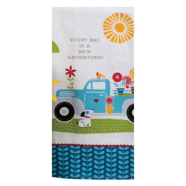 Adventure Truck Dual Purpose Terry Towel