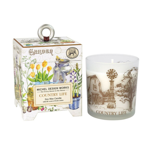 Country Life Candle By Michel Design Works