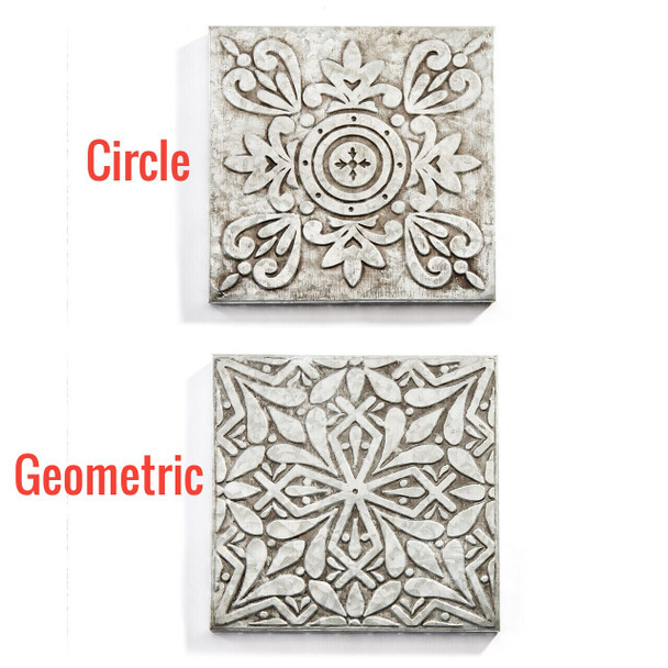 Metal Wall Tile for sunroom or garden porch