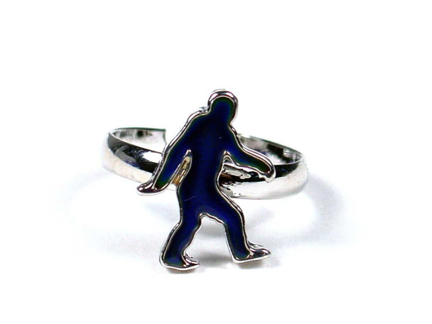 Bigfoot Mood Ring Rings The Nut House