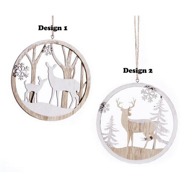 Cut Out Deer Ornament