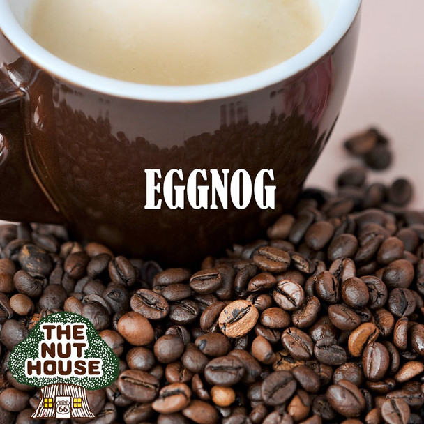 <p>Eggnog flavored coffee beans: an old-time holiday favorite</p>