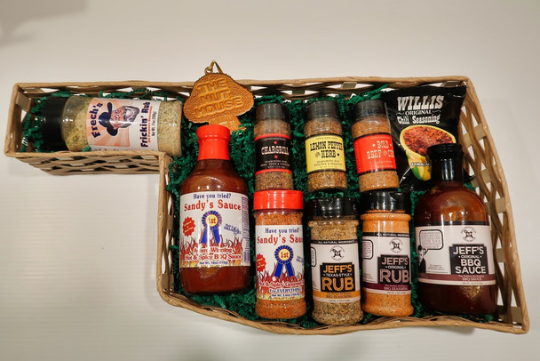 Made in Oklahoma BBQ Gift Basket