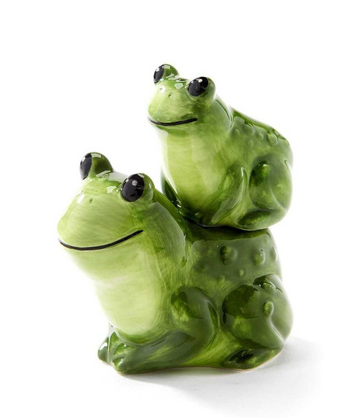 Stacking Frogs Salt and Pepper Shakers Salt and Pepper Sets The Nut House