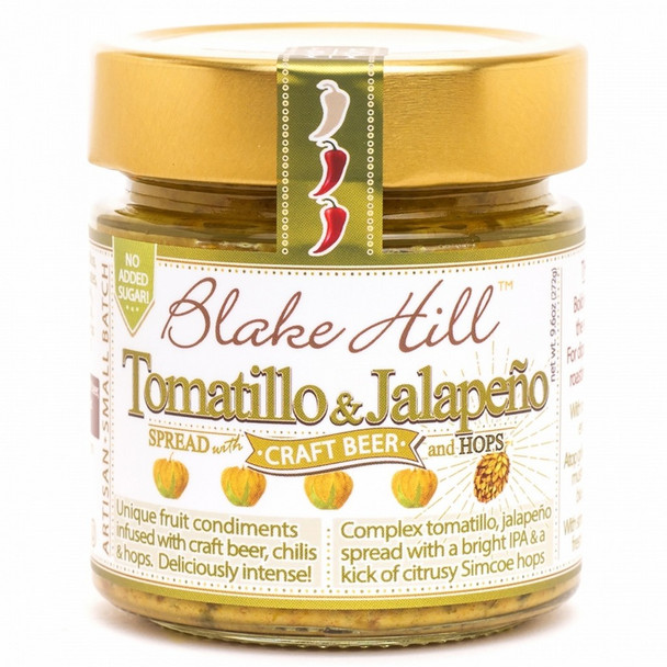 Tomatillo and Jalapeno Savory Jam