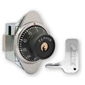 Zephyr ADA Key Controlled Built-In Combination Lock with Vertical Dead Bolt, Right Hand
