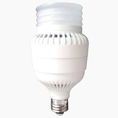 Commercial/Industrial LED Lamp 100-277v - 70W HID replacement - 30W LED - 2,623lm - 6000K - E26 Medium base