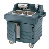 Hand Sink Cart, Electric with Heater - 110V